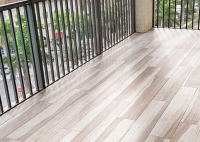 outdoor floor installations