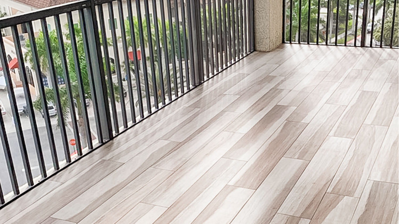 indoor outdoor fort myers florida faux wood floor tile home remodel