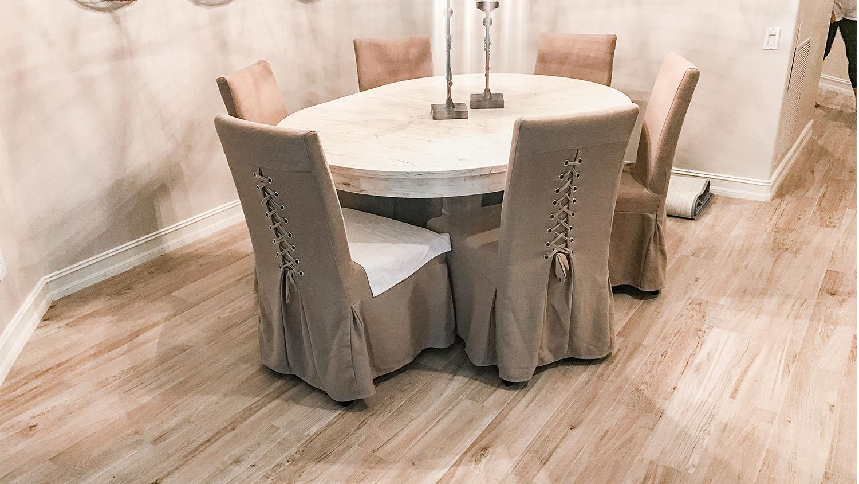 dining room remodel tile southwest florida