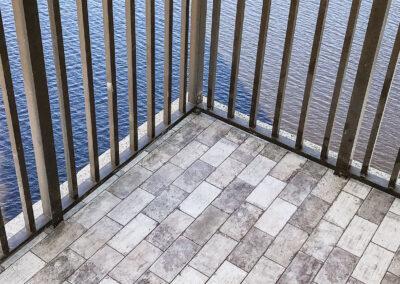 custom patio outdoor floor installations